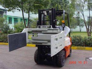 中国液压高效叉车附件多用途夹具