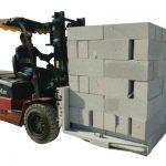 液压叉车混凝土砖/块提升夹具