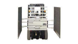 叉车附件纸箱夹具3级和1220 * 1420毫米臂尺寸