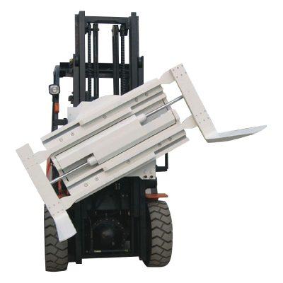 中国供应商3吨叉车夹具旋转叉形夹