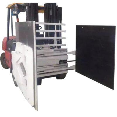 顶级纸箱夹紧叉车