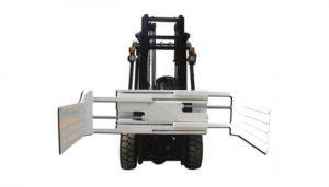 大开口叉车附件打包夹具设备与叉车
