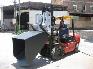 3吨现代柴油叉车附件铲斗铰链叉和铲斗