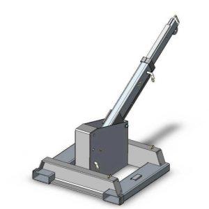 机械固定附件车架式叉车臂式起重机