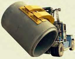 水泥管辊夹