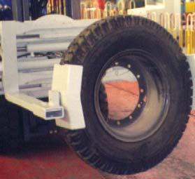 防滑叉轮胎夹具